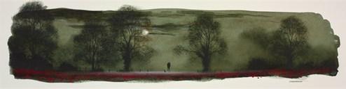 Moon Gazing (study) by John Waterhouse - Original on Paper